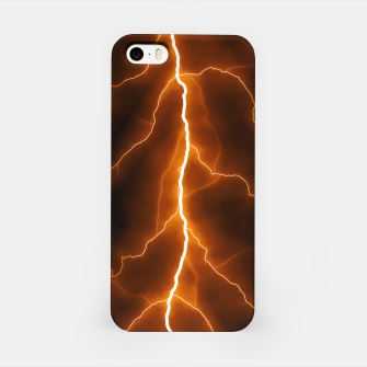 Thumbnail image of Natural Forked Lightning - 02 iPhone Case, Live Heroes