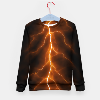 Thumbnail image of Natural Forked Lightning - 02 Kid's sweater, Live Heroes