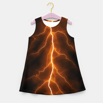 Thumbnail image of Natural Forked Lightning - 02 Girl's summer dress, Live Heroes
