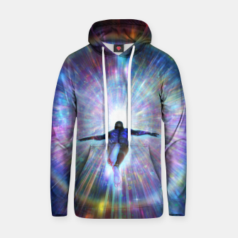 Thumbnail image of Approaching the source Hoodie, Live Heroes