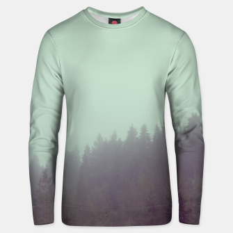 Miniatur Foggy morning Unisex sweater, Live Heroes