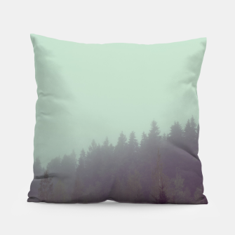 Miniatur Foggy morning Pillow, Live Heroes