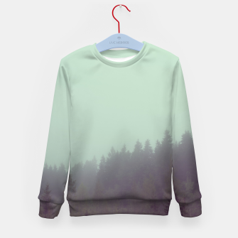 Miniatur Foggy morning Kid's sweater, Live Heroes
