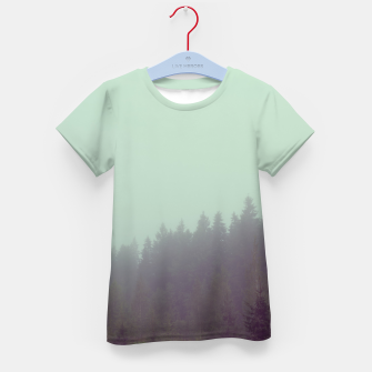 Miniatur Foggy morning Kid's t-shirt, Live Heroes