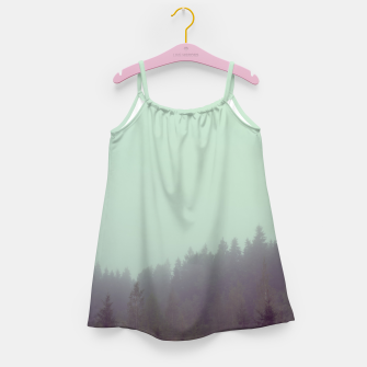 Miniatur Foggy morning Girl's dress, Live Heroes