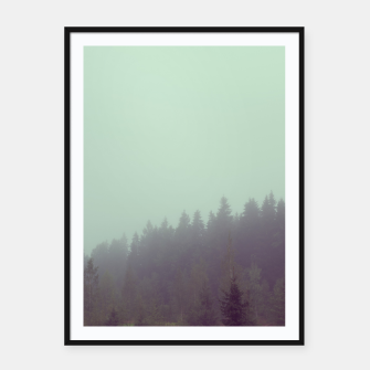 Miniatur Foggy morning Framed poster, Live Heroes
