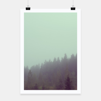 Miniatur Foggy morning Poster, Live Heroes