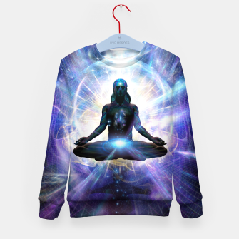 Thumbnail image of YOUniverse Kid's sweater, Live Heroes