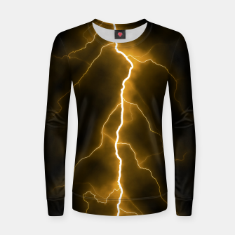 Thumbnail image of Natural Forked Lightning - 03 Women sweater, Live Heroes