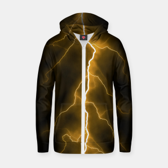 Thumbnail image of Natural Forked Lightning - 03 Zip up hoodie, Live Heroes