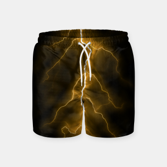 Thumbnail image of Natural Forked Lightning - 03 Swim Shorts, Live Heroes