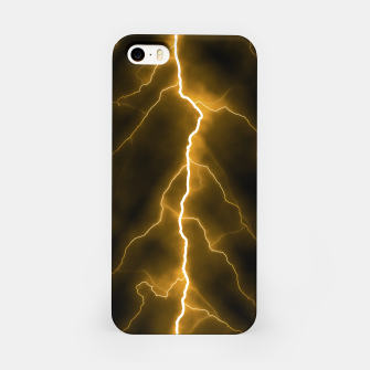 Thumbnail image of Natural Forked Lightning - 03 iPhone Case, Live Heroes