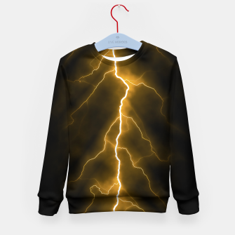 Thumbnail image of Natural Forked Lightning - 03 Kid's sweater, Live Heroes