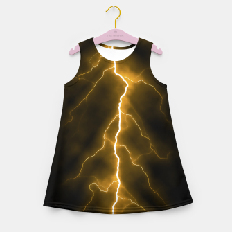 Thumbnail image of Natural Forked Lightning - 03 Girl's summer dress, Live Heroes