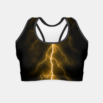 Thumbnail image of Natural Forked Lightning - 03 Crop Top, Live Heroes