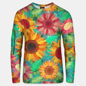Thumbnail image of Sunflower Garden Unisex sweater, Live Heroes