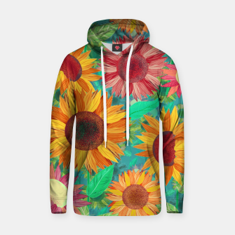 Thumbnail image of Sunflower Garden Hoodie, Live Heroes