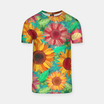 Thumbnail image of Sunflower Garden T-shirt, Live Heroes