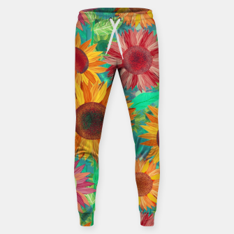 Thumbnail image of Sunflower Garden Sweatpants, Live Heroes