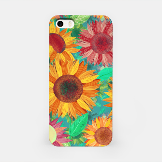 Thumbnail image of Sunflower Garden iPhone Case, Live Heroes