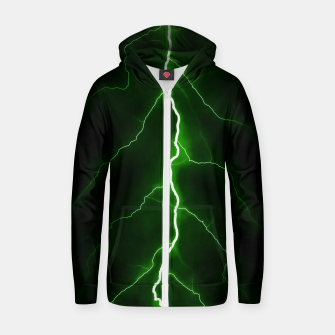 Thumbnail image of Natural Forked Lightning - 04 Zip up hoodie, Live Heroes
