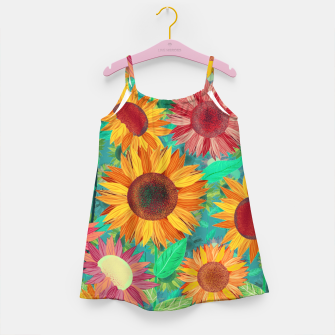 Thumbnail image of Sunflower Garden Girl's dress, Live Heroes
