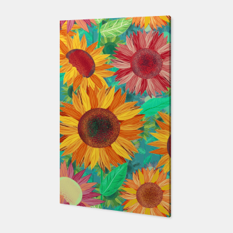 Thumbnail image of Sunflower Garden Canvas, Live Heroes