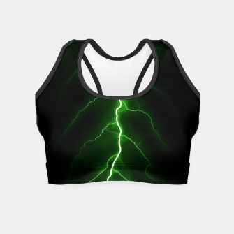 Thumbnail image of Natural Forked Lightning - 04 Crop Top, Live Heroes