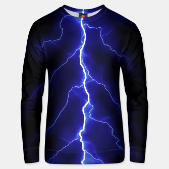 Natural Forked Lightning - 05 Unisex sweater Bild der Miniatur
