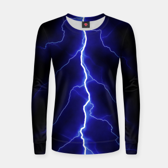 Thumbnail image of Natural Forked Lightning - 05 Women sweater, Live Heroes