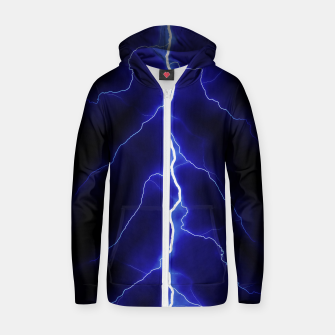 Thumbnail image of Natural Forked Lightning - 05 Zip up hoodie, Live Heroes