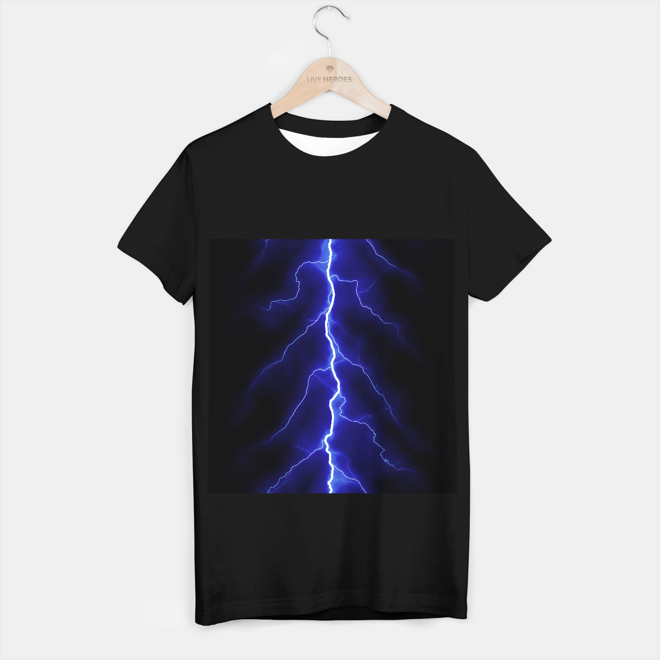 Foto Natural Forked Lightning - 05 T-shirt regular - Live Heroes