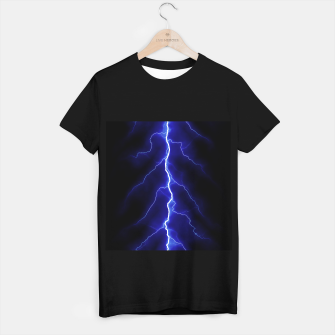 Natural Forked Lightning - 05 T-shirt regular Bild der Miniatur