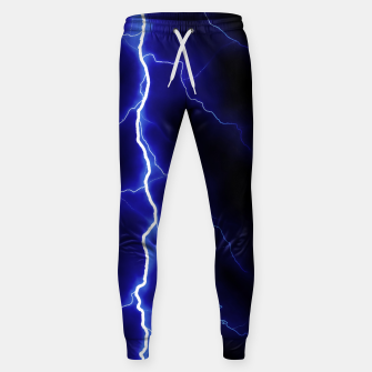 Natural Forked Lightning - 05 Sweatpants Bild der Miniatur