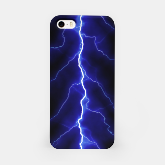Natural Forked Lightning - 05 iPhone Case Bild der Miniatur