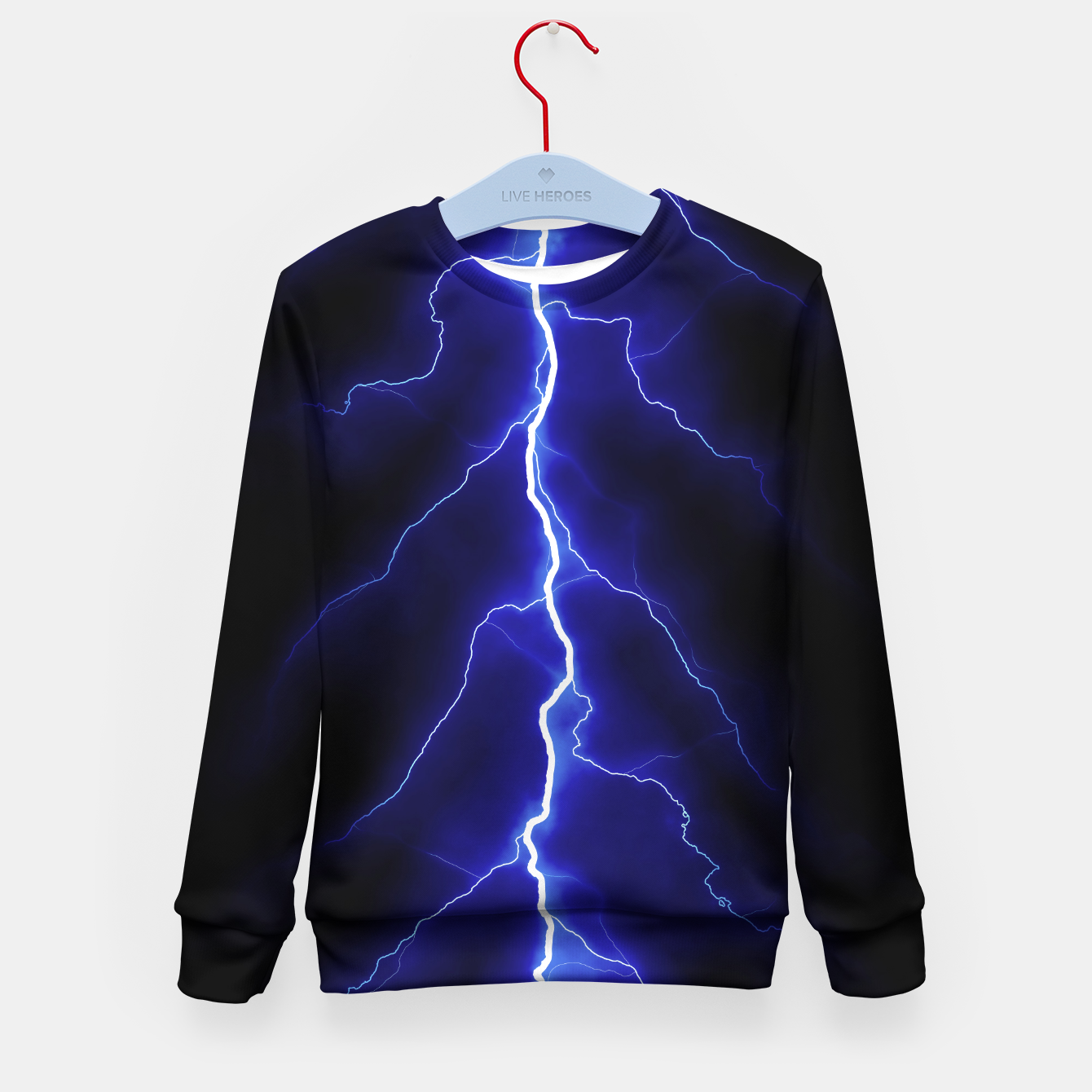 Foto Natural Forked Lightning - 05 Kid's sweater - Live Heroes