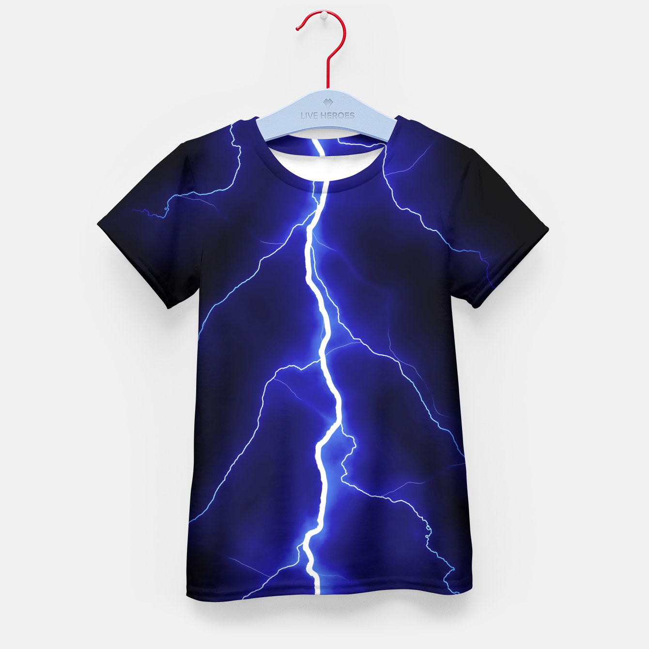 Foto Natural Forked Lightning - 05 Kid's t-shirt - Live Heroes
