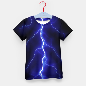 Natural Forked Lightning - 05 Kid's t-shirt Bild der Miniatur