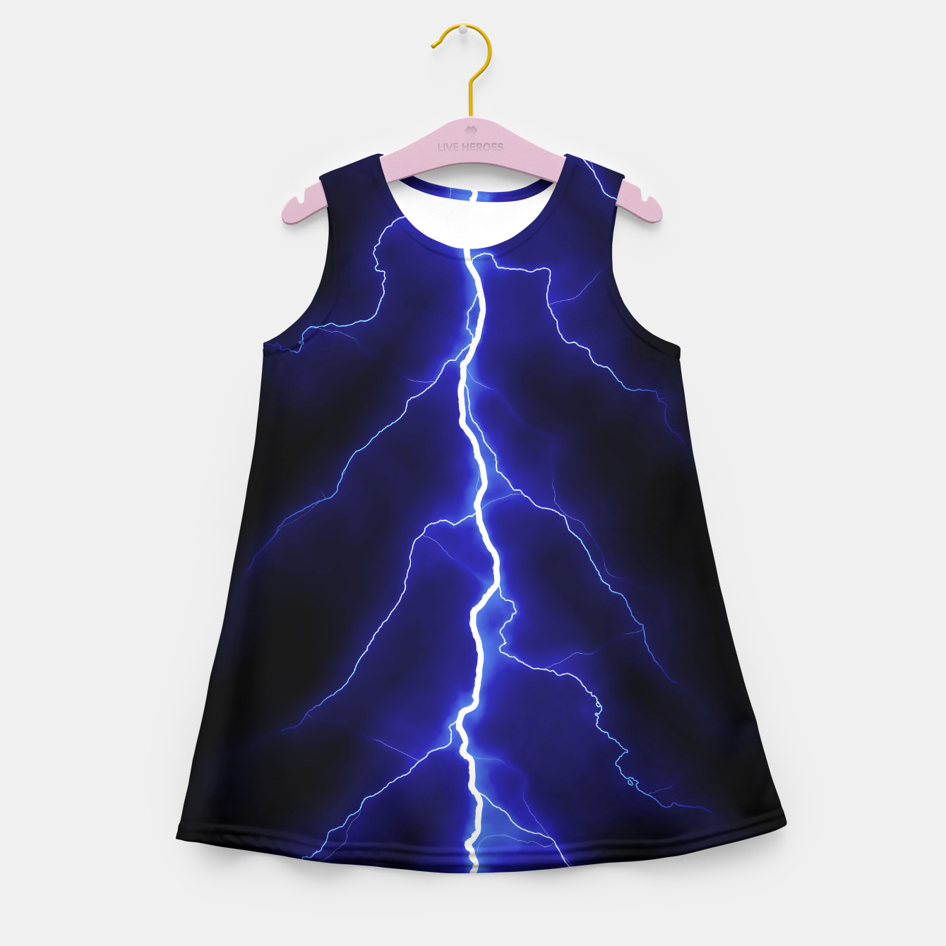 Foto Natural Forked Lightning - 05 Girl's summer dress - Live Heroes
