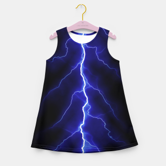 Natural Forked Lightning - 05 Girl's summer dress Bild der Miniatur
