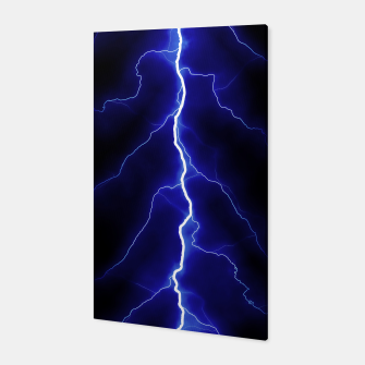 Miniatur Natural Forked Lightning - 05 Canvas, Live Heroes