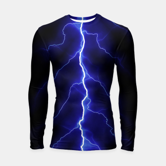 Thumbnail image of Natural Forked Lightning - 05 Longsleeve rashguard , Live Heroes