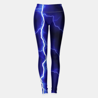 Thumbnail image of Natural Forked Lightning - 05 Leggings, Live Heroes