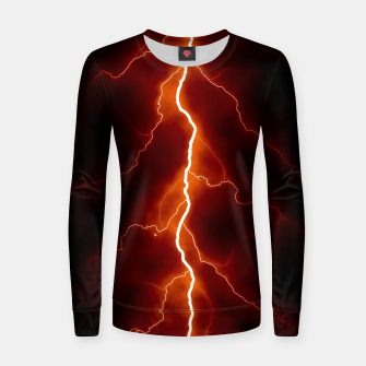 Thumbnail image of Natural Forked Lightning - 06 Women sweater, Live Heroes