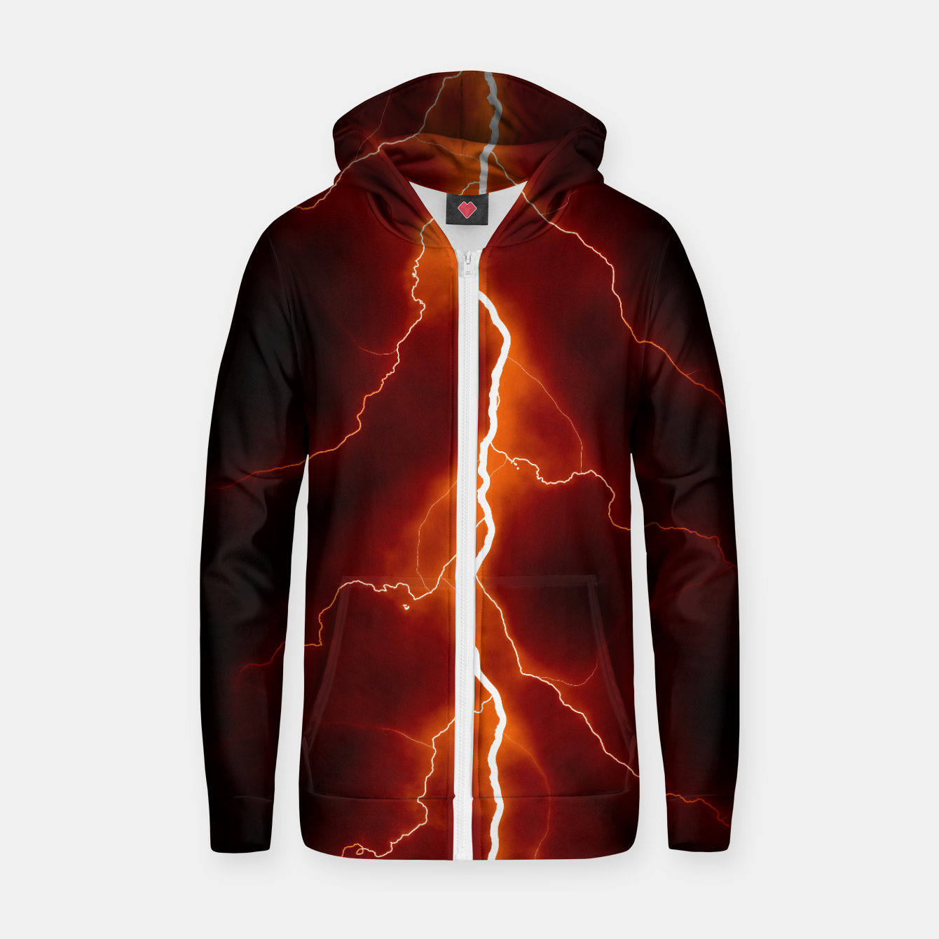 Foto Natural Forked Lightning - 06 Zip up hoodie - Live Heroes