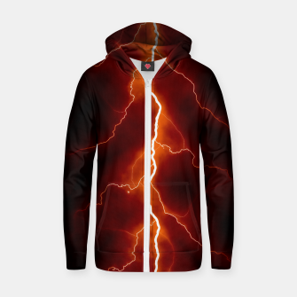 Thumbnail image of Natural Forked Lightning - 06 Zip up hoodie, Live Heroes
