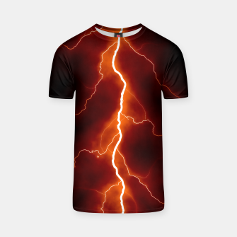 Natural Forked Lightning - 06 T-shirt Bild der Miniatur