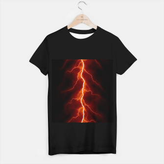 Miniatur Natural Forked Lightning - 06 T-shirt regular, Live Heroes