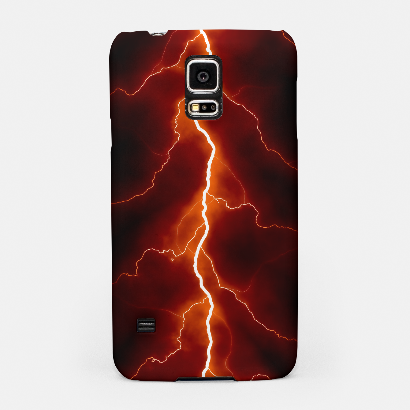 Foto Natural Forked Lightning - 06 Samsung Case - Live Heroes