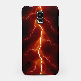 Natural Forked Lightning - 06 Samsung Case Bild der Miniatur
